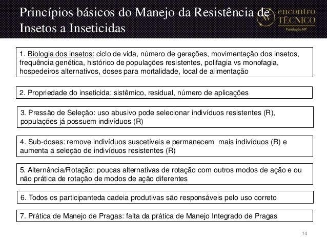 4. Sub-doses: remove indivíduos suscetíveis e permanecem mais indivíduos (R) e aumenta a seleção de indivíduos resistentes...