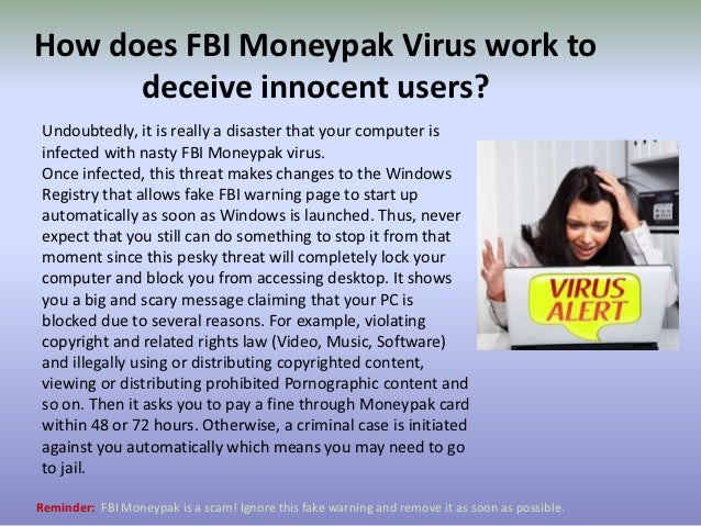 How to unlock your computer from FBI Moneypak Malware?