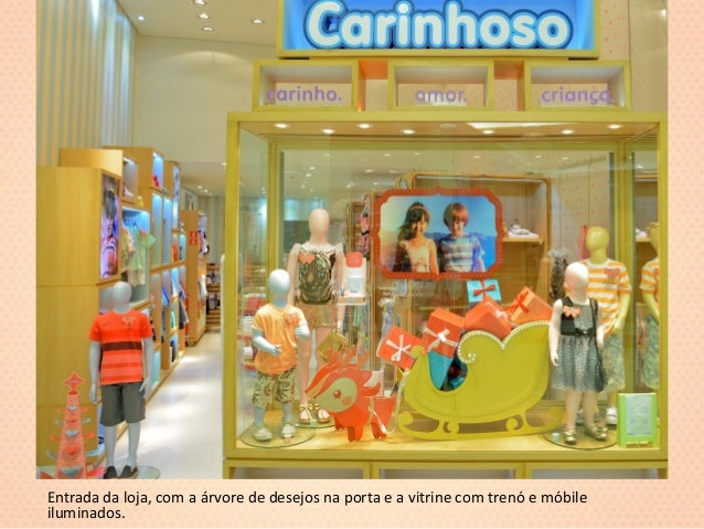 Carinhoso Vitrine e Decoraç u00e3o de Loja Natal  -> Decoração De Natal Para Loja Infantil