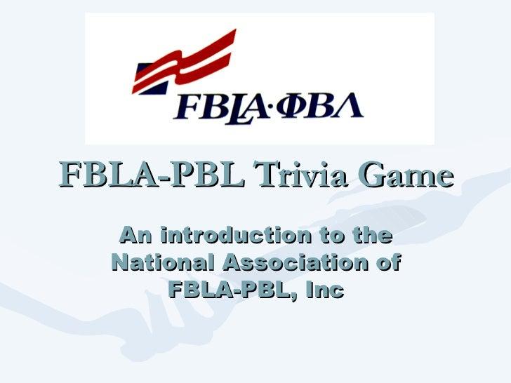Introduction to business presentation fbla pbl