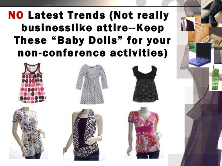 Conference Dress Code