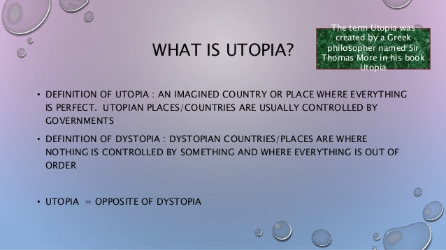 f block utopia   2 what is utopia