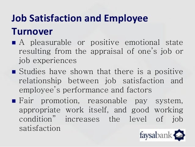 how motivation influences the job satisfaction level management essay Employees motivation in organizations: an integrative literature  work motivation, job characteristics, management practices,  job satisfaction,.