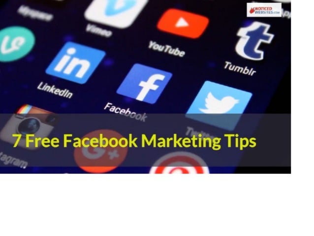 7 Free or near free Facebook marketing tips for small business