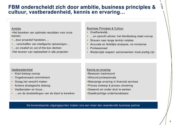 Partners bekleden meerdere posities in Commissariaten</li></ul>Debt Advisory<br /><ul><li> 20 jaar actief in financierings...