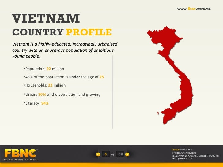 Vietnam TV Market Overview