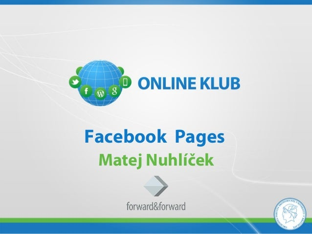 Facebook Pages Matej Nuhlíček