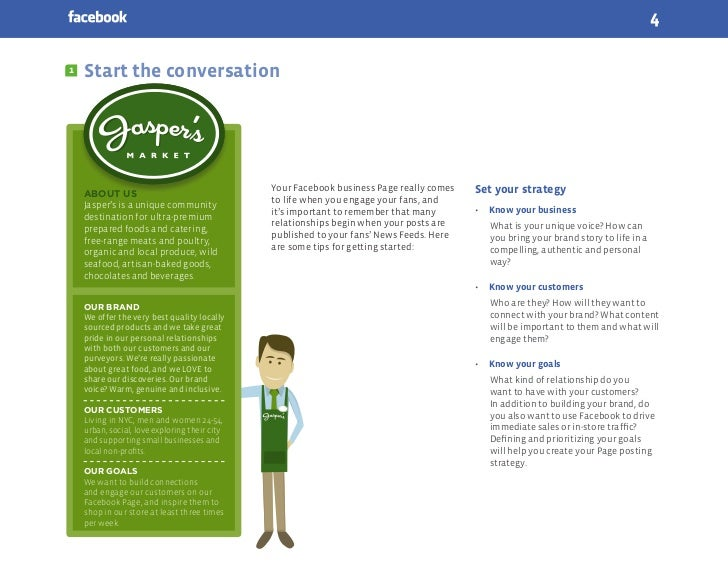 41   Start the conversation                                               Your Facebook business Page really comes   Set y...