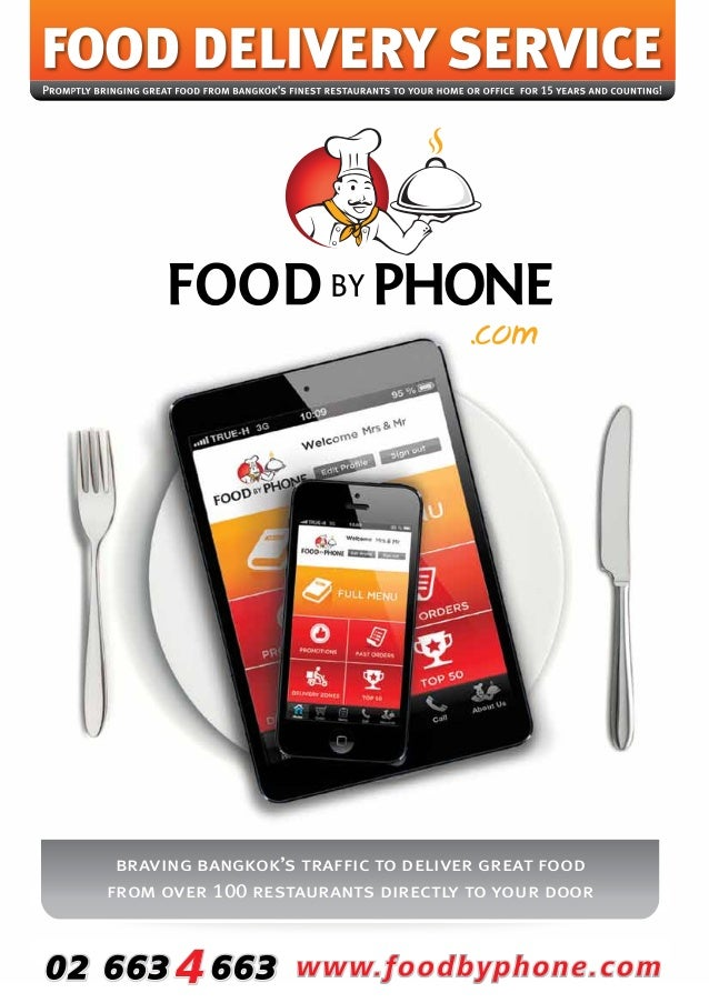 braving bangkok's traffic to deliver great food from over 100 restaurants directly to your door