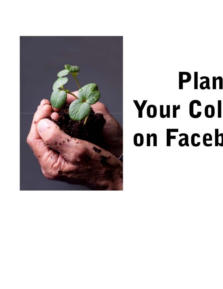 PlantingYour Collegeon Facebook