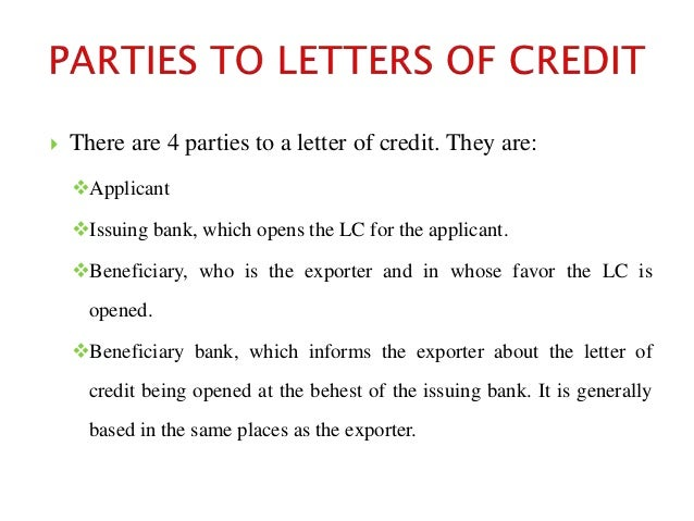 Letter of credit 4 yadclub Choice Image