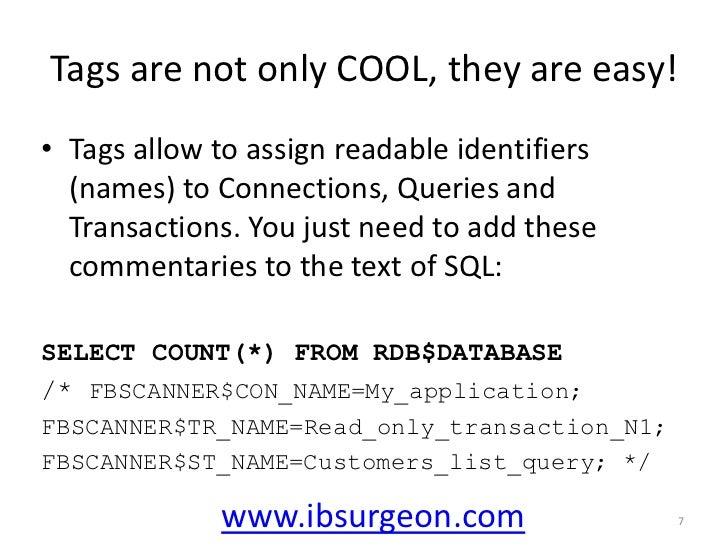 Errors and their reasons (10054, 10038, etc)</li></ul>www.ibsurgeon.com<br />4<br />