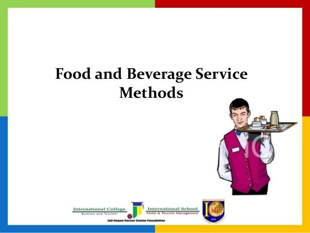 Food and Beverage Service Methods