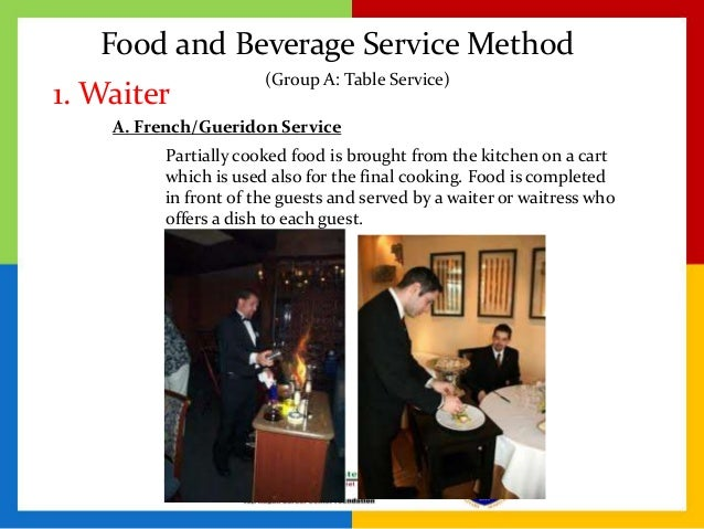 Specialized Service In Food And Beverage