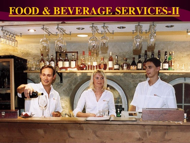 FOOD & BEVERAGE SERVICES-II