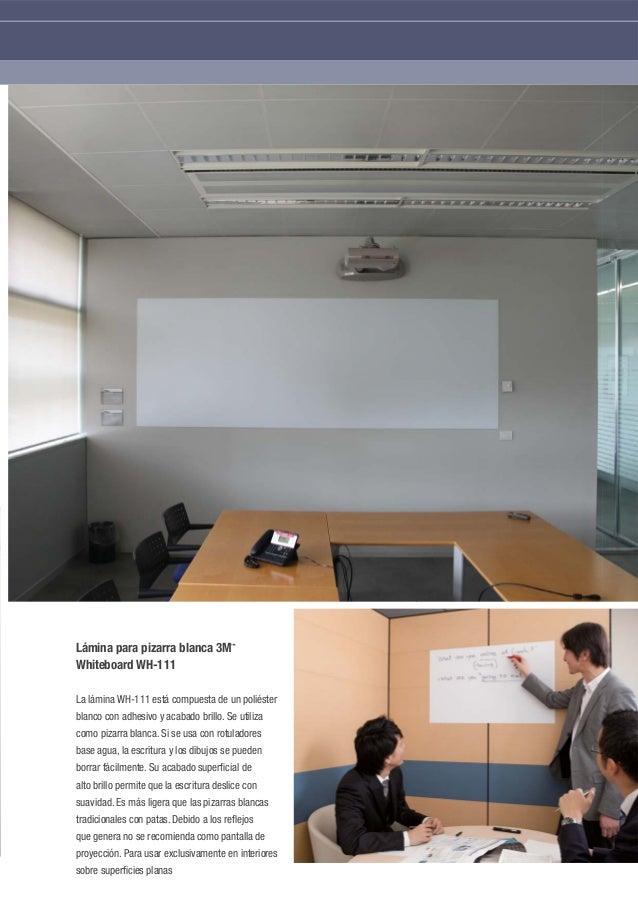 Pizarras adhesivas para pared Whiteboard 3M