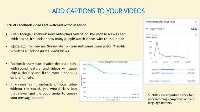 10 ways to create great Facebook videos
