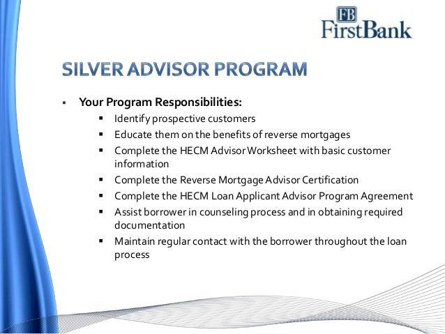 FB Wholesale Reverse Mortgage Program Overview