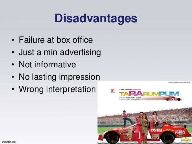 Advantages and Disadvantages of Various Advertising Mediums