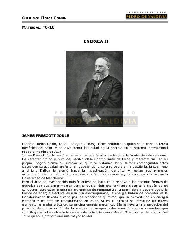 Energía II (FC16 - PDV 2013)