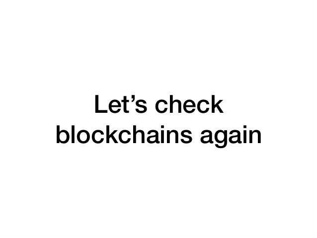 • Ethereum   • known leaders and financing  • code needs a lot of changes before maturity  • many central points/many vulne...