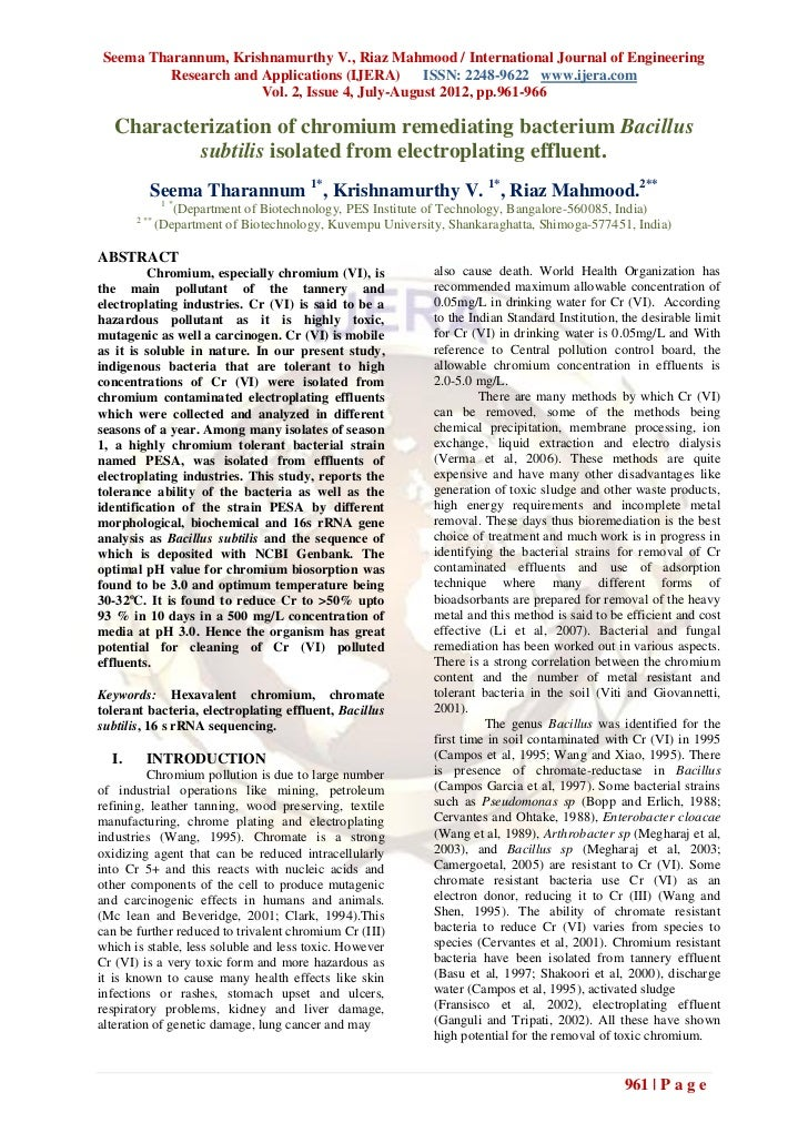 Seema Tharannum, Krishnamurthy V., Riaz Mahmood / International Journal of Engineering         Research and Applications (...