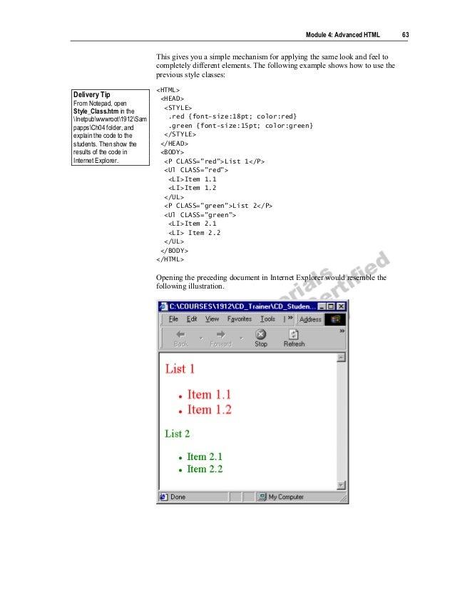 Advanced HTML PDF