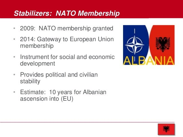 NATO: Investment Data Show Economic Benefits For New Members