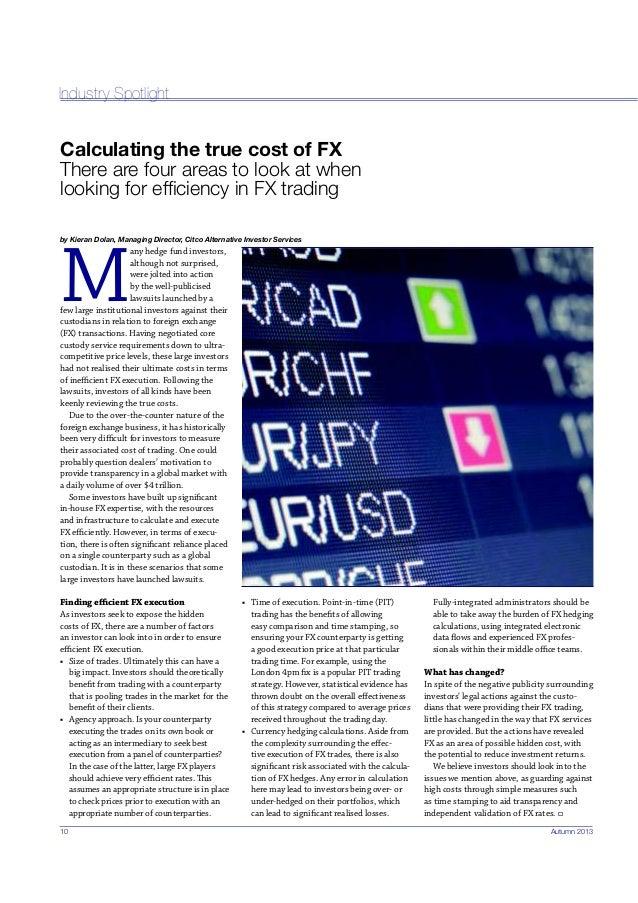 Fx industry