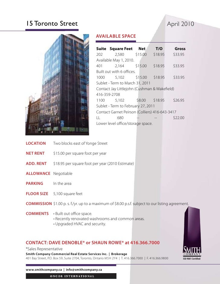 Small Financial Core Office Space For Lease