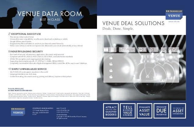 Venue 7.0 Deal Solutions Brochure
