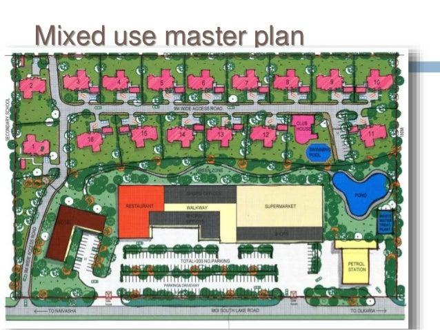 Mixed use master plan