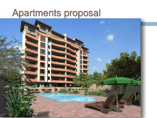 Apartments proposal