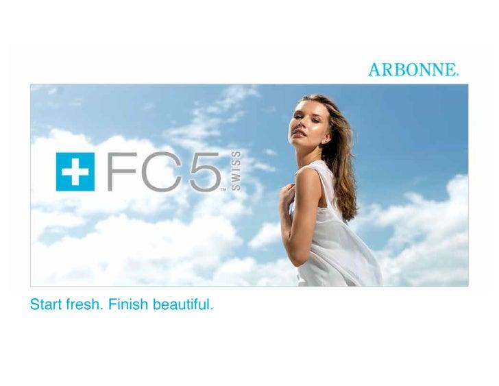 Start fresh. Finish beautiful.