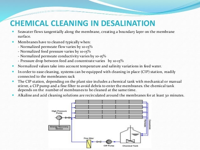 REJECT HANDLING IN DESALINATION  Reject of sea water desalination plant are discharged 2-3 kms deep inside the sea throug...