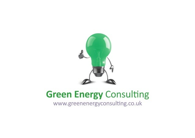 What we do. Green Energy Consulting is a leading independent UK commercial energy consultancy, specialising in the energy ...
