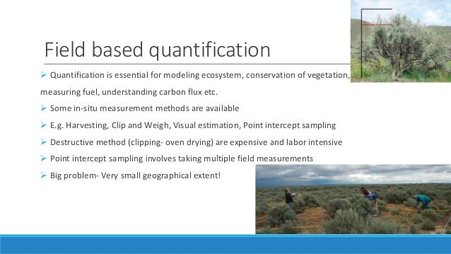 ASSESSING THE LIMITATIONS AND CAPABILITIES OF LIDAR AND ...