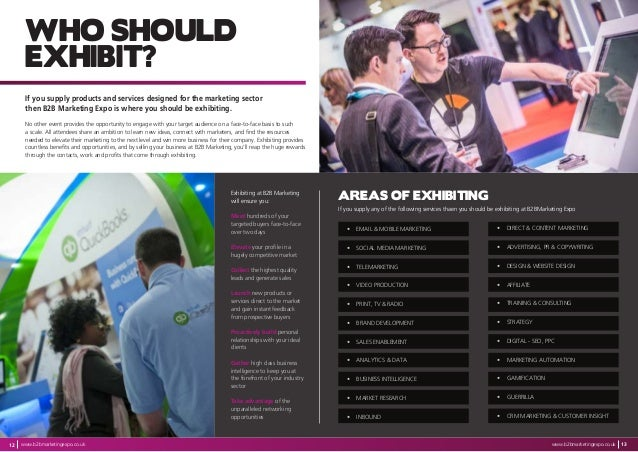 Sungard Exhibition Stand Goal : B2b media brochure 2017
