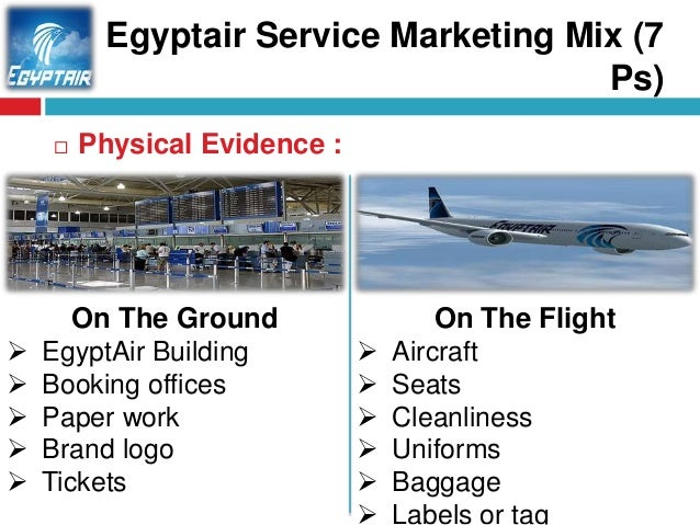 Egyptair service marketing mix 7 ps - Egyptair airport office number ...