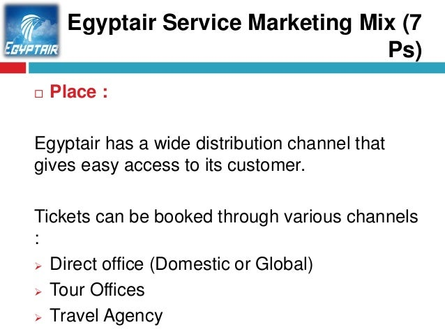 Marketing Mix of easyJet