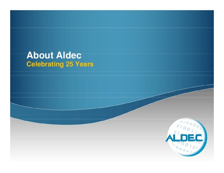 About Aldec Celebrating 25 Years