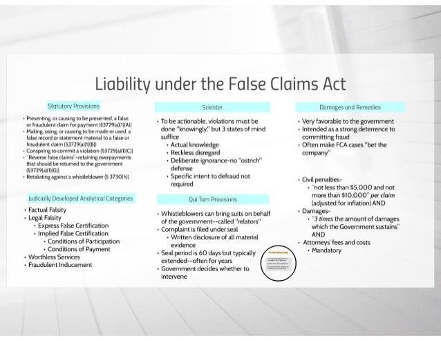 False Claims Act Primer Presentation