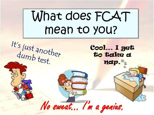 an introduction to the fcat florida comprehensive assessment test Predicting fcat reading scores using the reading-level  florida comprehensive assessment test  predicting fcat reading scores using the reading-level indicator.