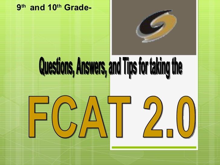 9th and 10th Grade-