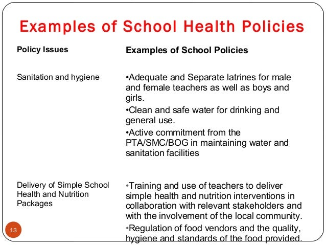 school policies in schools In 2013, employees at bruce randolph high school sent an open letter to the  superintendent of denver public schools, complaining about the.