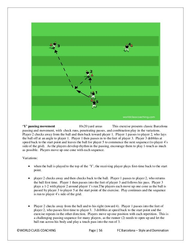 Pattern passing 1/3 field This series is set similar to the 'Y' sequence above, but it serves more players more efficientl...