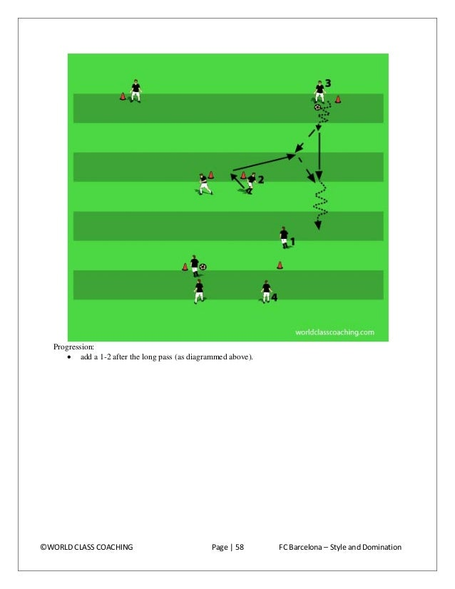 •  add an overlap at the end of the exercise. Note that this variation changes the rotation (from the first to the third a...