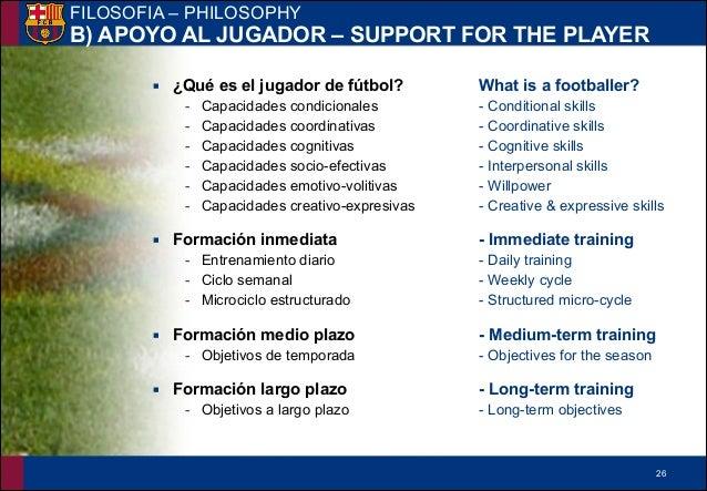 !26 ▪ ¿Qué es el jugador de fútbol? What is a footballer? - Capacidades condicionales - Conditional skills - Capacidades c...