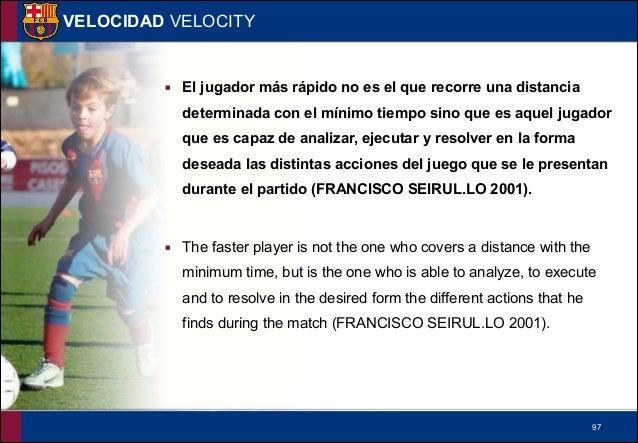 !98 VELOCIDAD VELOCITY ▪ Un jugador no siendo ni fuerte ni rápido potenciando todas las opciones de velocidad que nos brin...