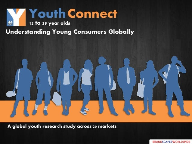 Understanding Young Consumers Globally A global youth research study across 20 markets YouthConnect 12 to 29 year olds